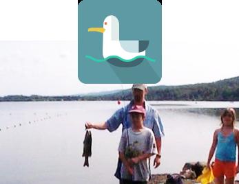 Camping Leroux pêche lac d'Argent